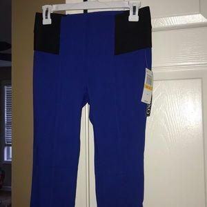 BNWT 🥑🥰xoxo índigo blue pants size small.